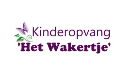 logo kinderopvang het wakertje