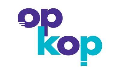 Logo op kop